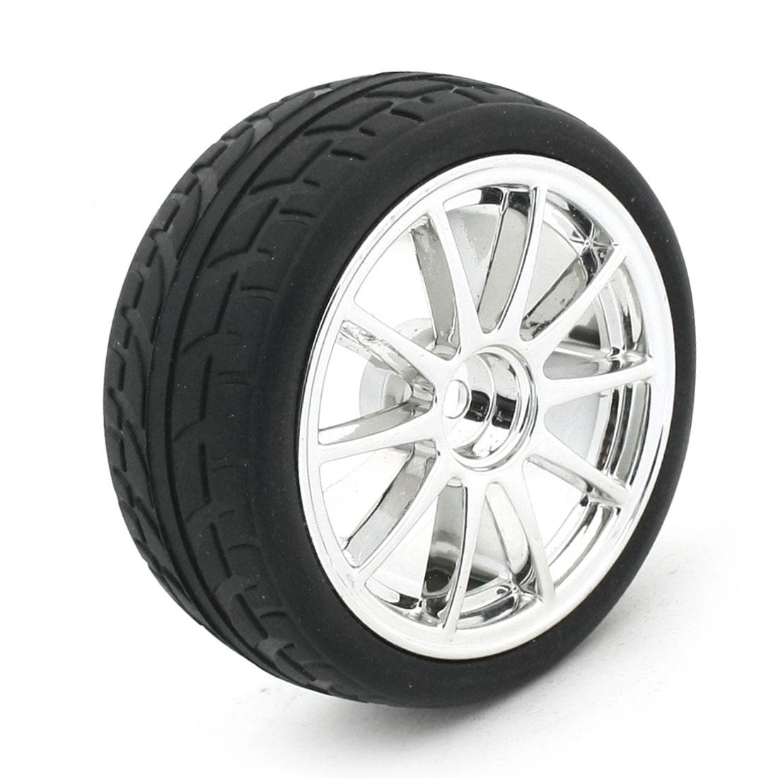 RC Smart Cars Truck Parts 12mm Plastic Hub 1:10 Drift Wheel Tire