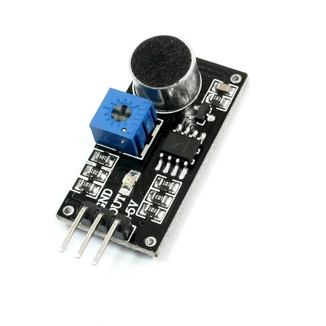 3Pin LM393 Sound Detection Sensor Transducer Module