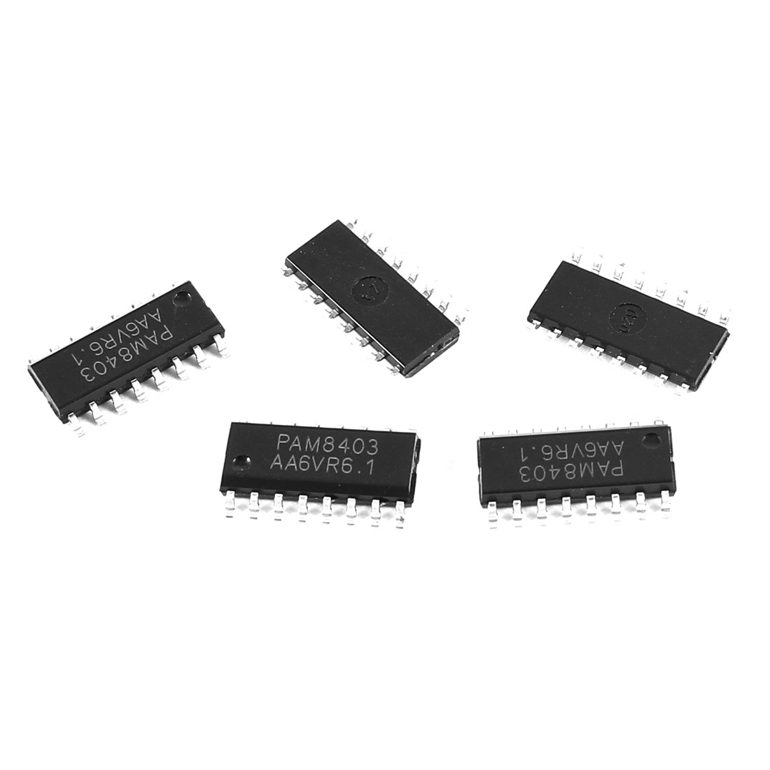 5 Pcs PAM8403 Electronic SMD SMT SOP-16 2 Channels 3W Stereo Filterless Class D Audio Amplifier IC