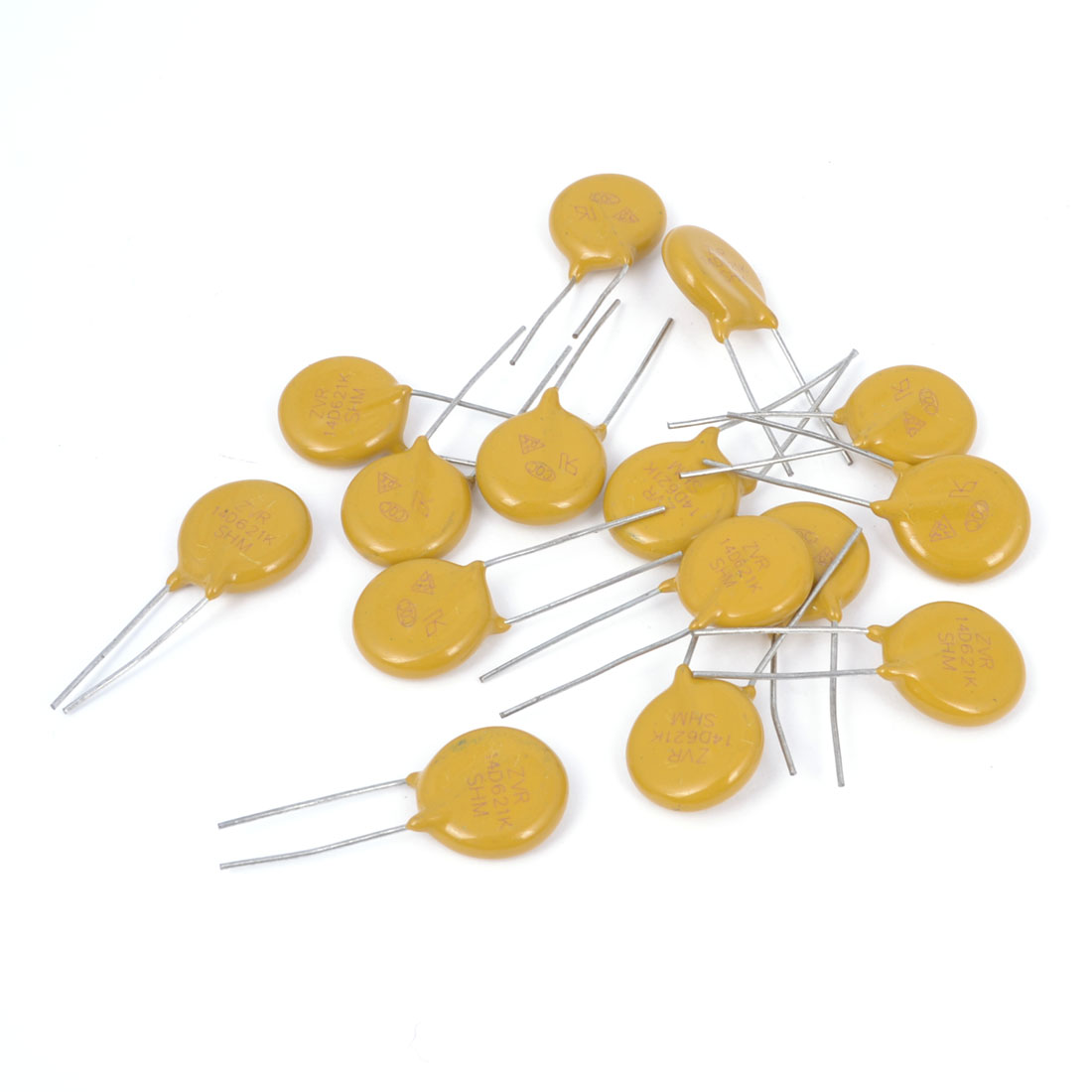 14D621K 620V Voltage Dependent Resistors 25mm Long 15 Pcs