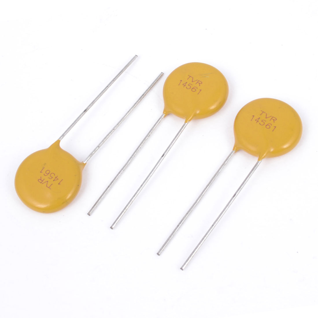 3Pcs Radial Lead Voltage Dependent Resistors Varistors 14D561K 560V