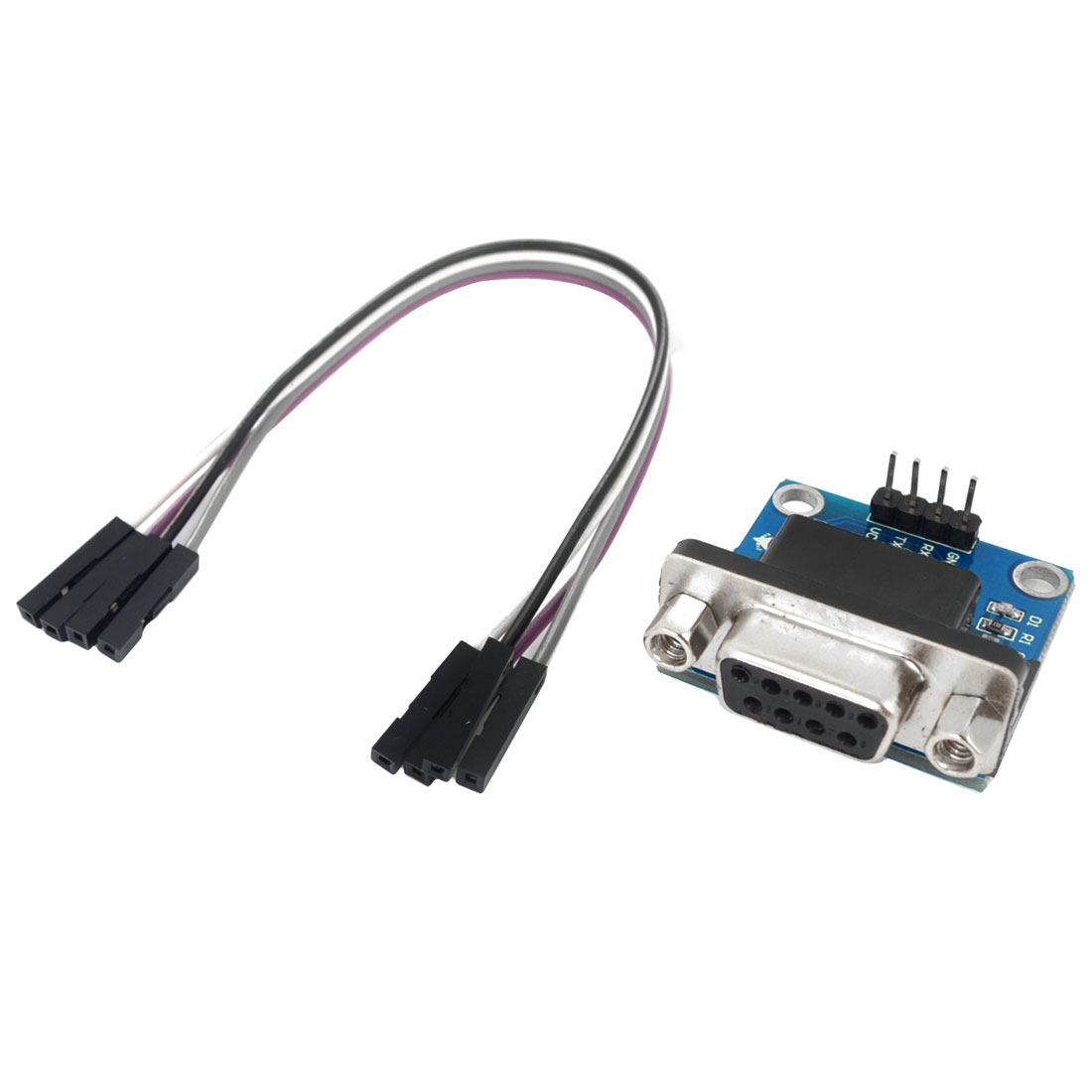 "RS232 USB to TTL Converter Module2 w STC Connecting Cable 6.3"" Long"