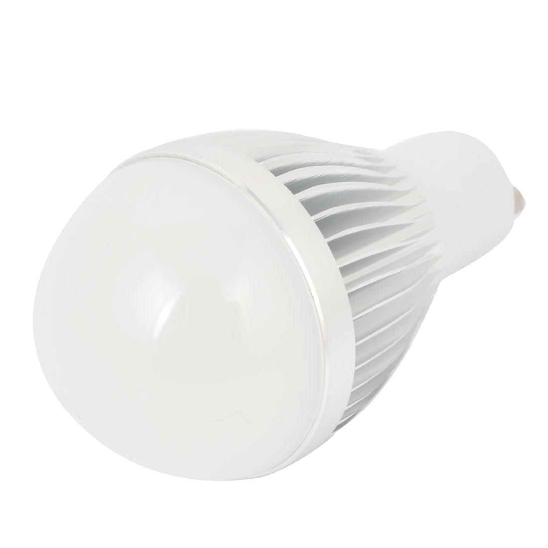 AC 85-220V 1W GU10 Base Energy Saving Globe Ball Bulb 6000K Pure White LED Lamp