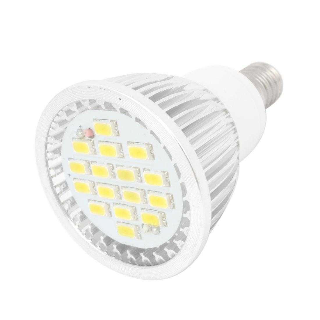 AC 220V E14 Base 16 3528 SMD Warm White LED Down Light Spot light Bulb 3W