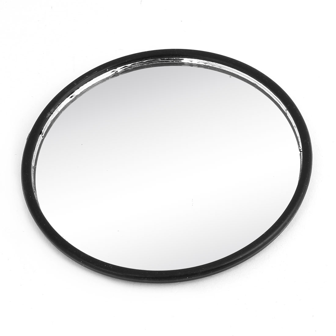 80mm Dia Self-Adhesive Car Rearview Blindspot Mirror Black Plastic