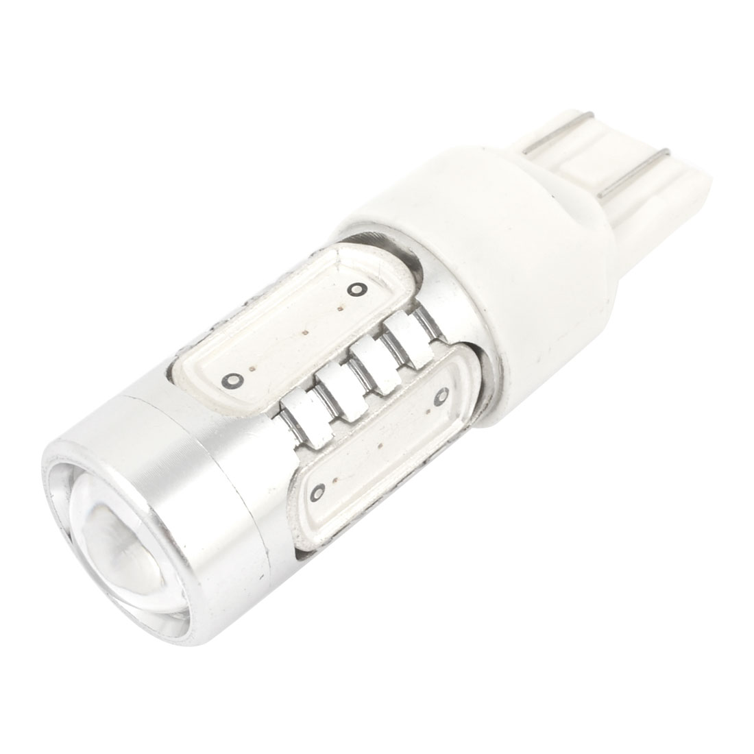 11W 5 LED 7440 7443 T20 Bulb Signal Stop Brake Tail Light Yellow