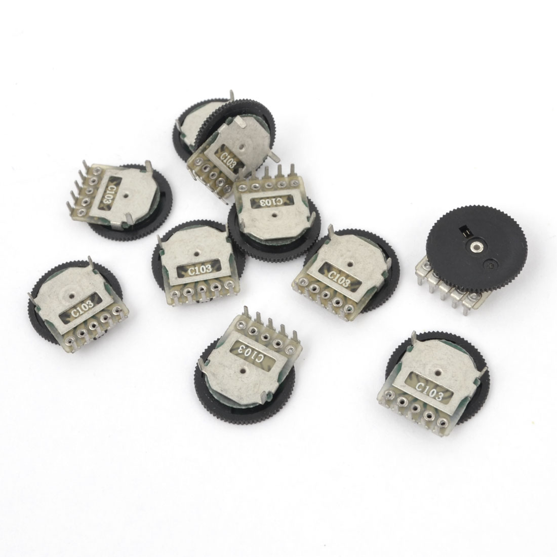 10 Pcs 90 Degree C Type 10K Ohm Potentiometer Electric Component
