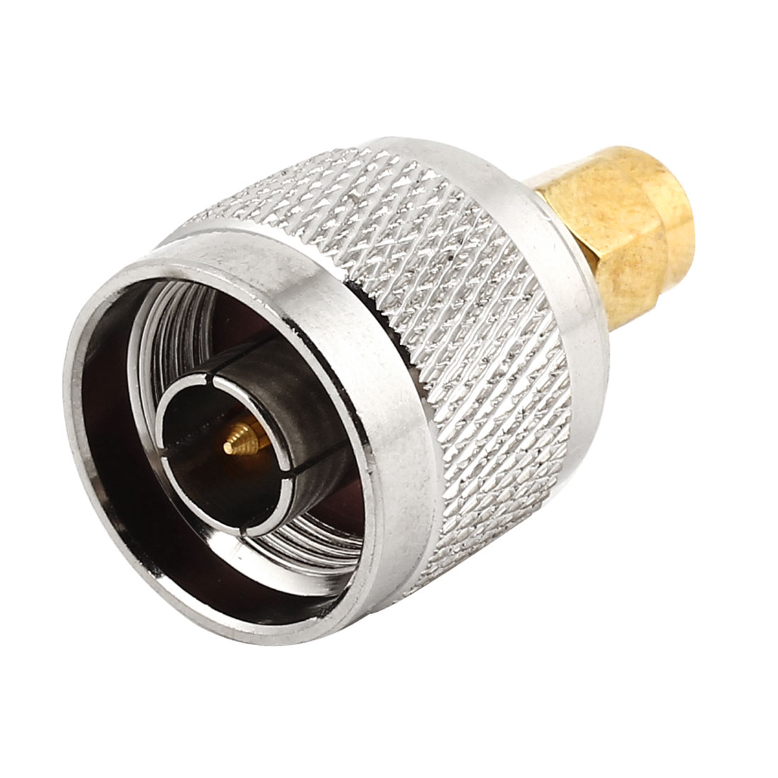 N Type Male to SMA Male M/M Straight RF Coax Connector Adapter