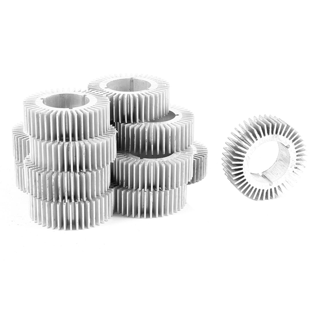 15 Pcs Round Shaped 32mm OD 17.5mm ID 10mm Height LED Light Heatsink Cooling Fin
