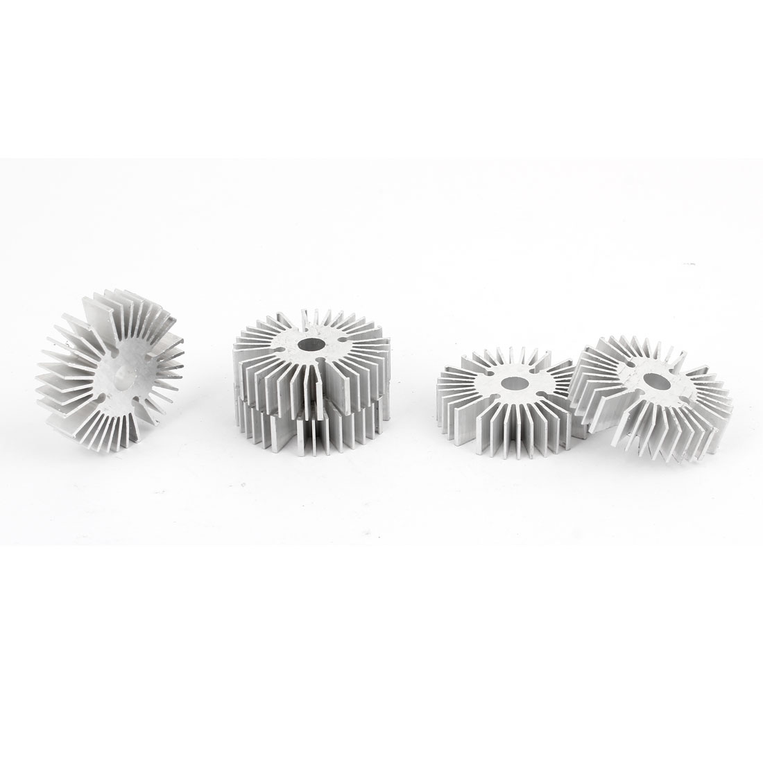 5 Pcs Round Shaped 39mm OD 6.5mm ID 10mm Height LED Lamp Heat Sinks Cooling Fin