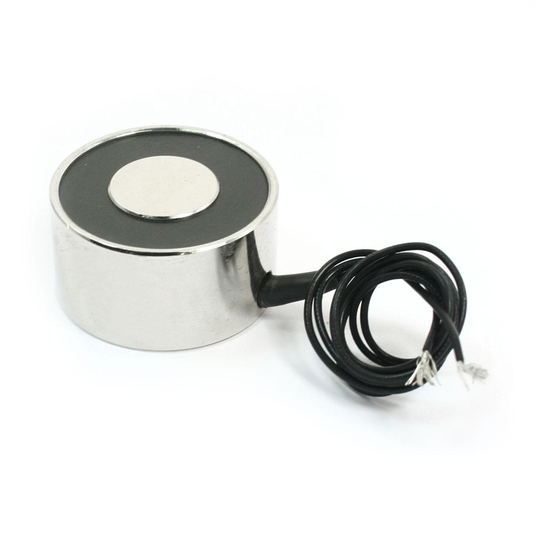 24V 0.17A 18Kg Electric Lifting Magnet Electromagnet Solenoid 34x18mm