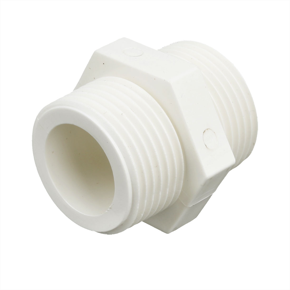 "1"" Male to Male Thread PVC-U Straight Quick Fitting Connector"