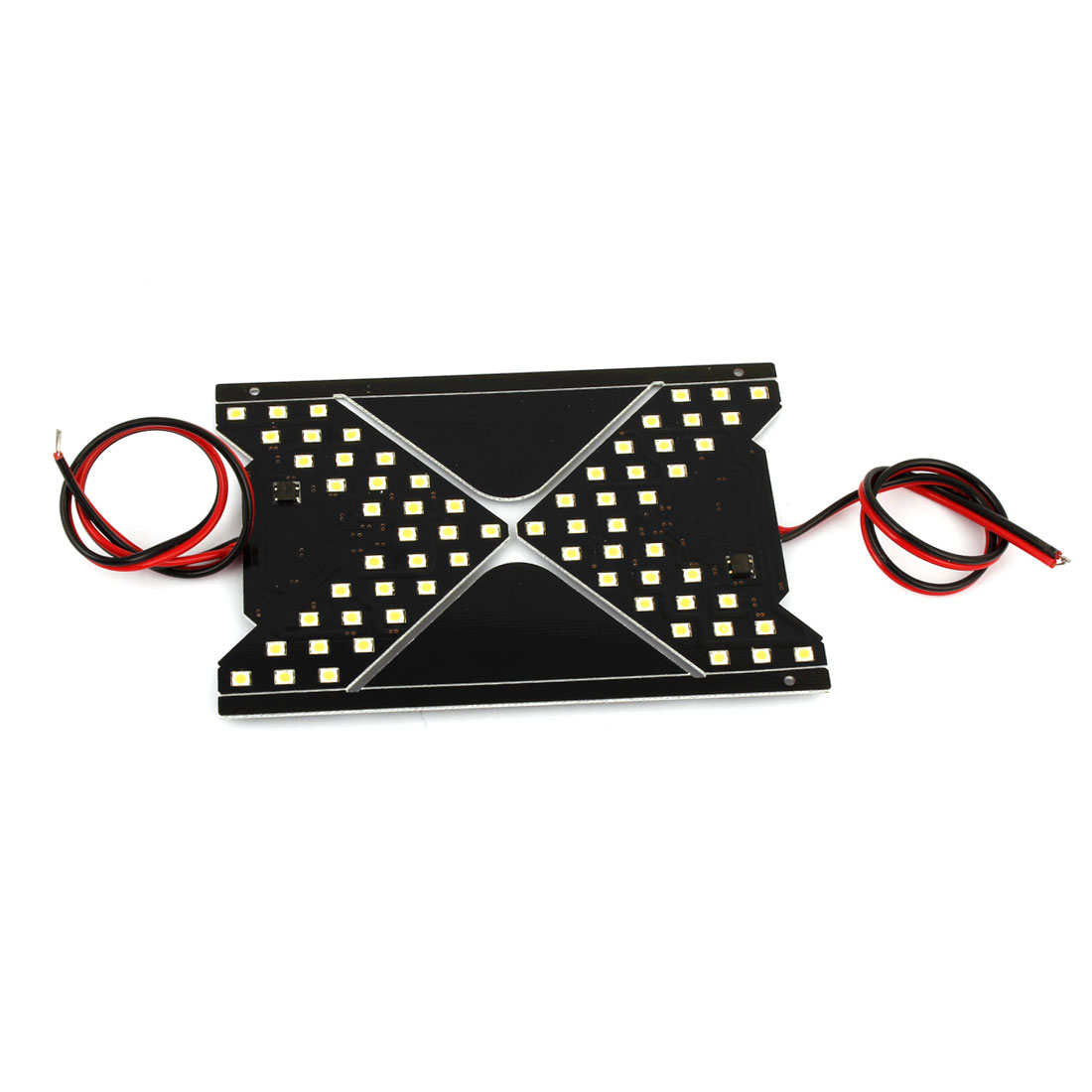 Car Side Sun Visor 27 Yellow LED Turn Signal Arrow Light Side Lamp 12V