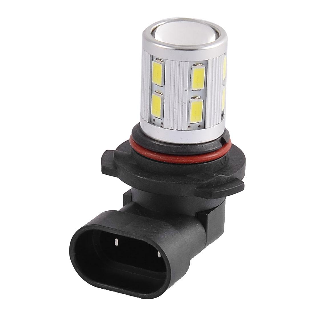 9006 HB4 5630 SMD 12 LED Lens Car Strob Flash DRL Fog Light Headlamp White Internal