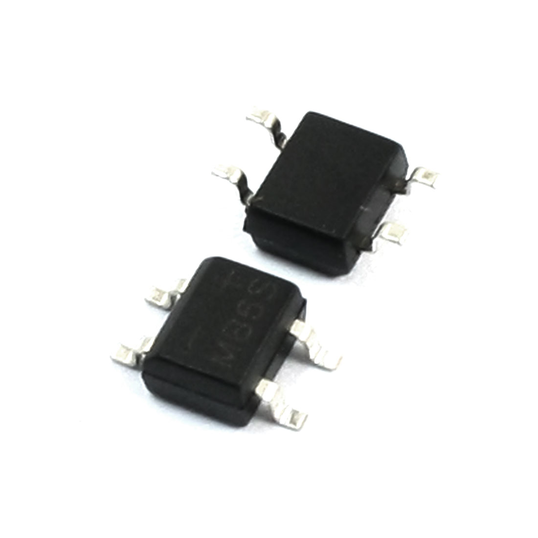 2Pcs MB6S Single Phase Diodes Bridge Rectifier 600V 0.5A