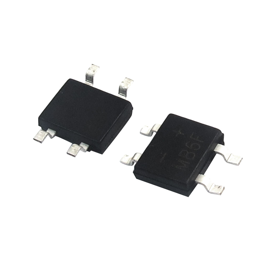 2pcs MB6F Single Phase Glass Passivated Bridge Rectifier 600V 0.5A