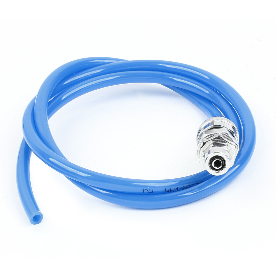 13mm Quick Fittings Blue 8x5mm Air Compressor Flexible PU Tube 3.3Ft