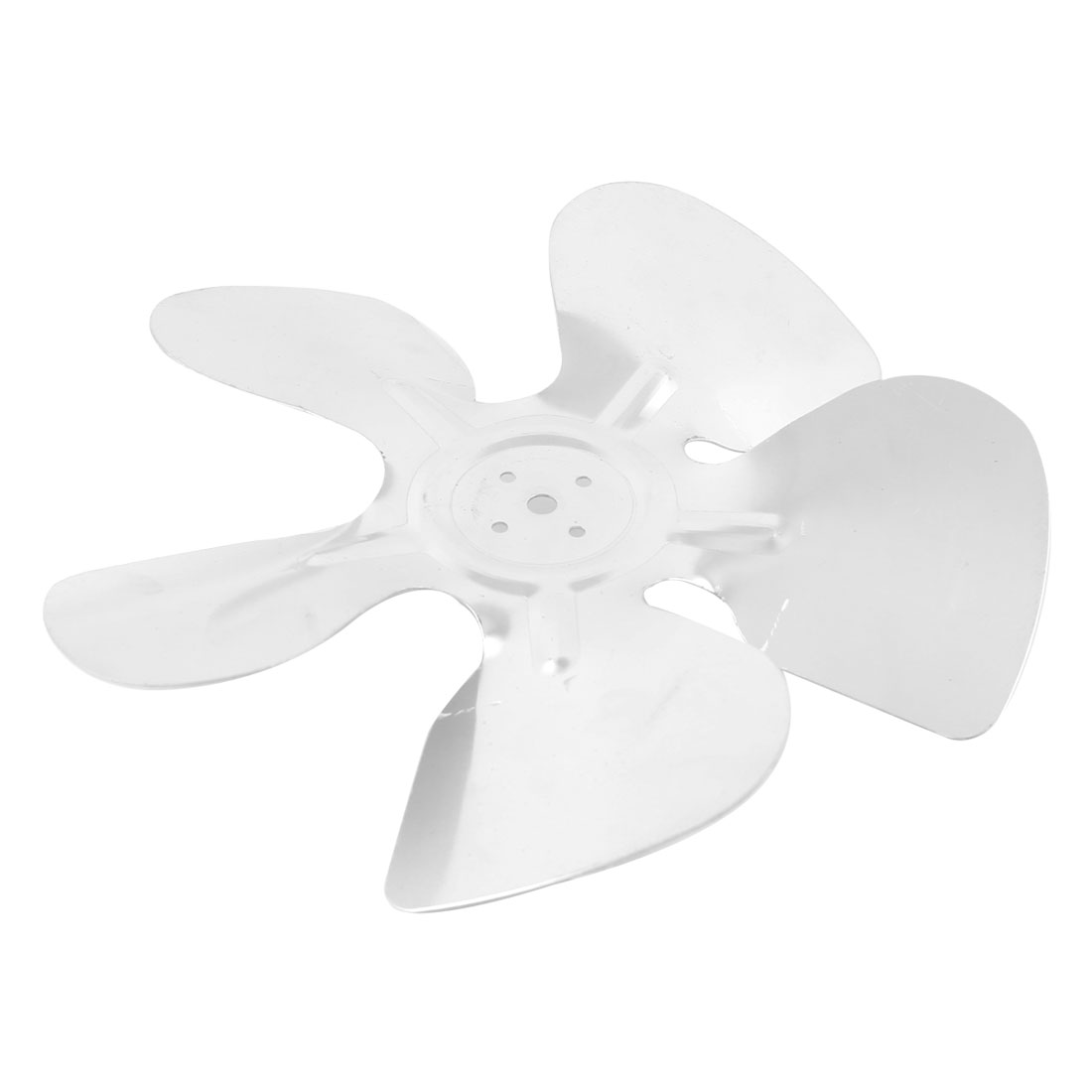 "Silver Tone Aluminum Alloy Refrigertor Exaust Motor Fan Vanes 9"" Diameter"