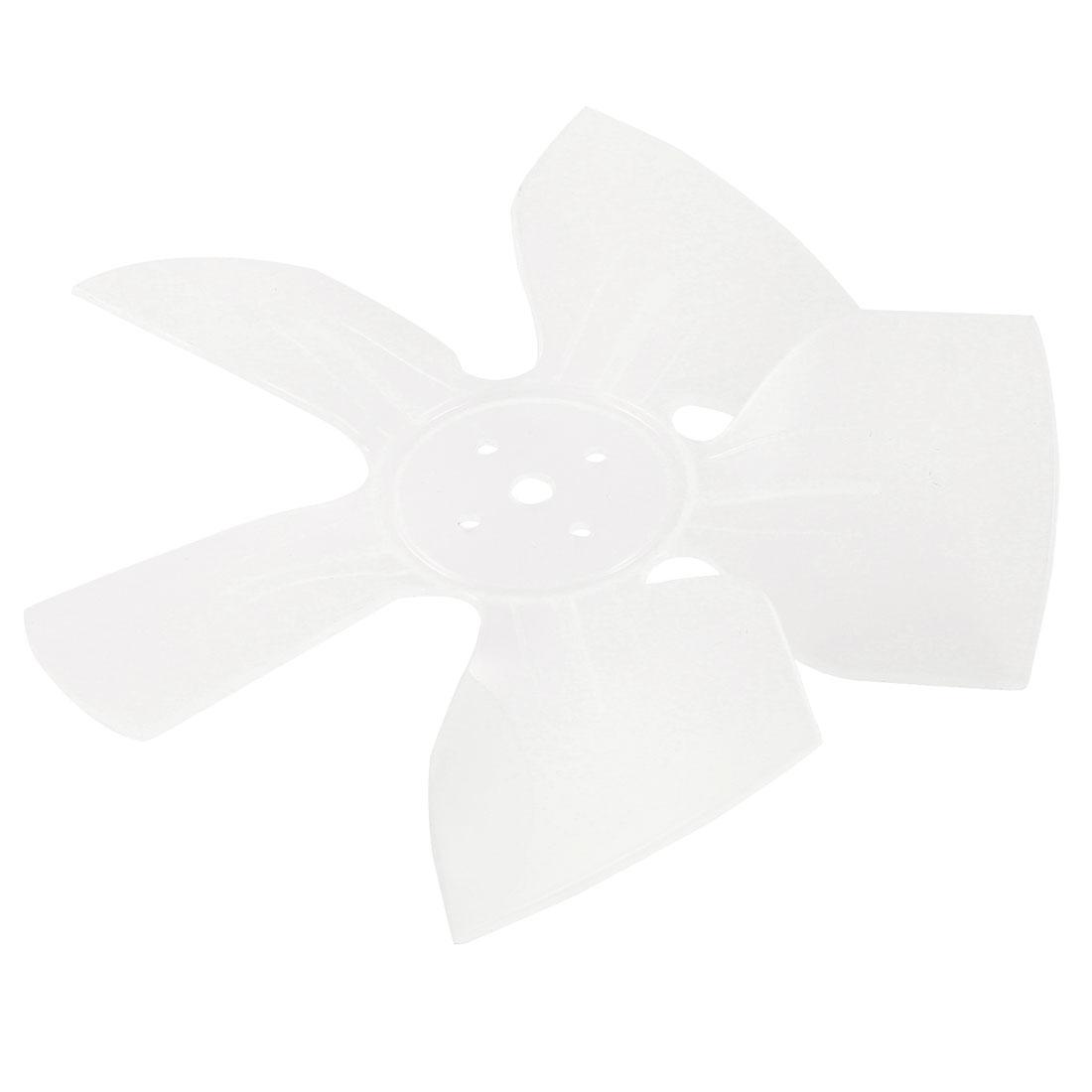 "White Plastic Freezer Refrigertor Exaust Motor Fan Vanes 6.7"" Dia"