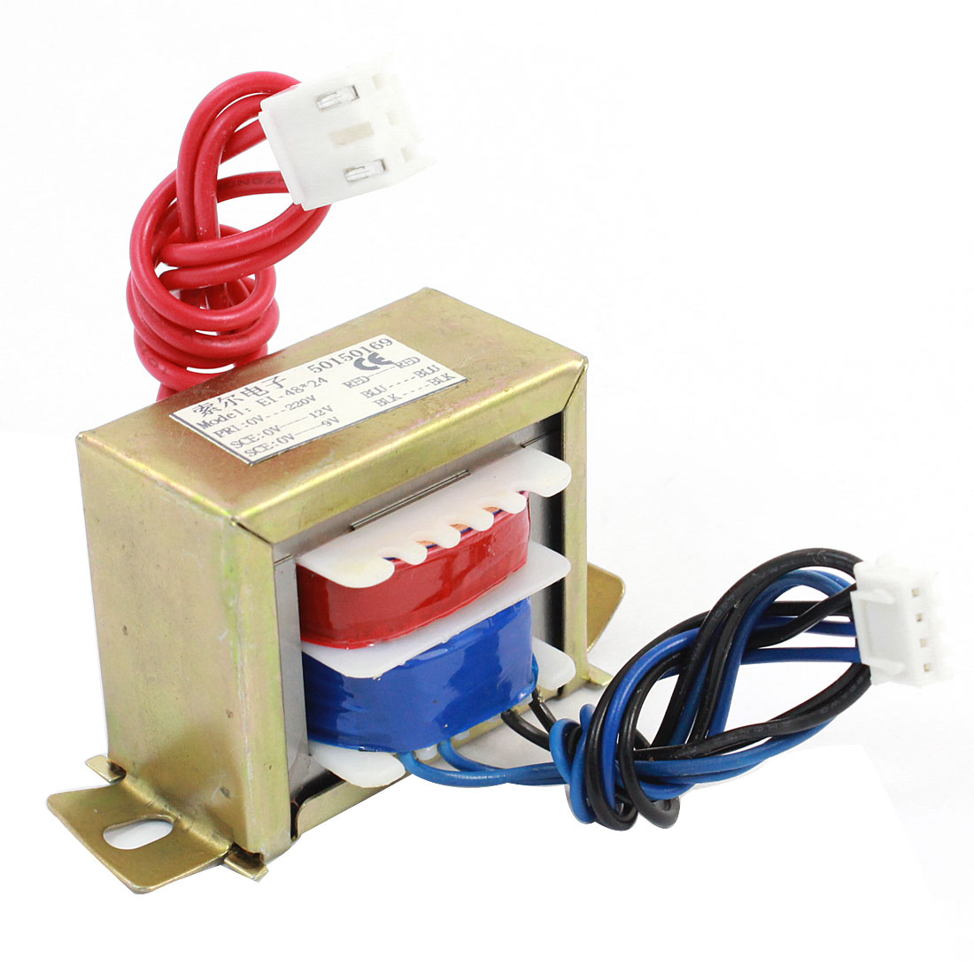 AC 220V Input AC 12V 9V Dual Output Electric Power Transformer