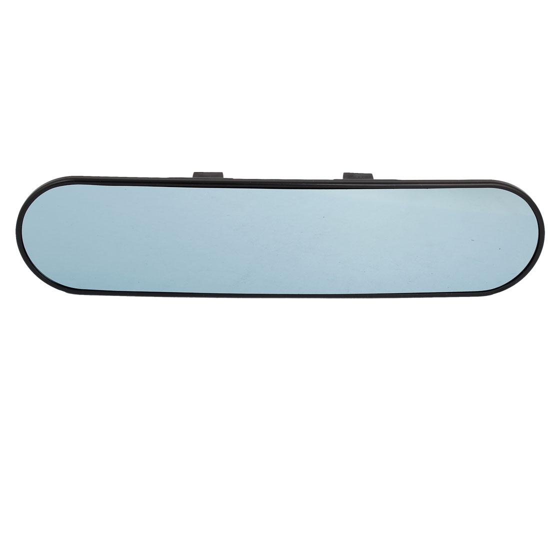 Car Vehicle Interior Blue Tint Wide Curve Clip On Rear View Mirror