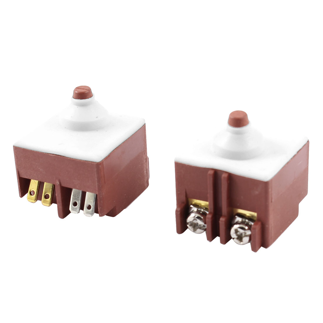 2 Pcs FA6-5/1D-24 Momentary Trigger Switch AC 250V 8A for Bosch Angle Grinder 6-100