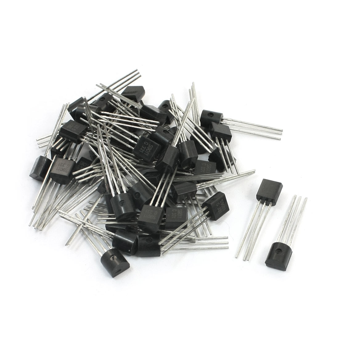 50PCS Electric Component S9011 35V 50mA TO-92 PNP Transistor