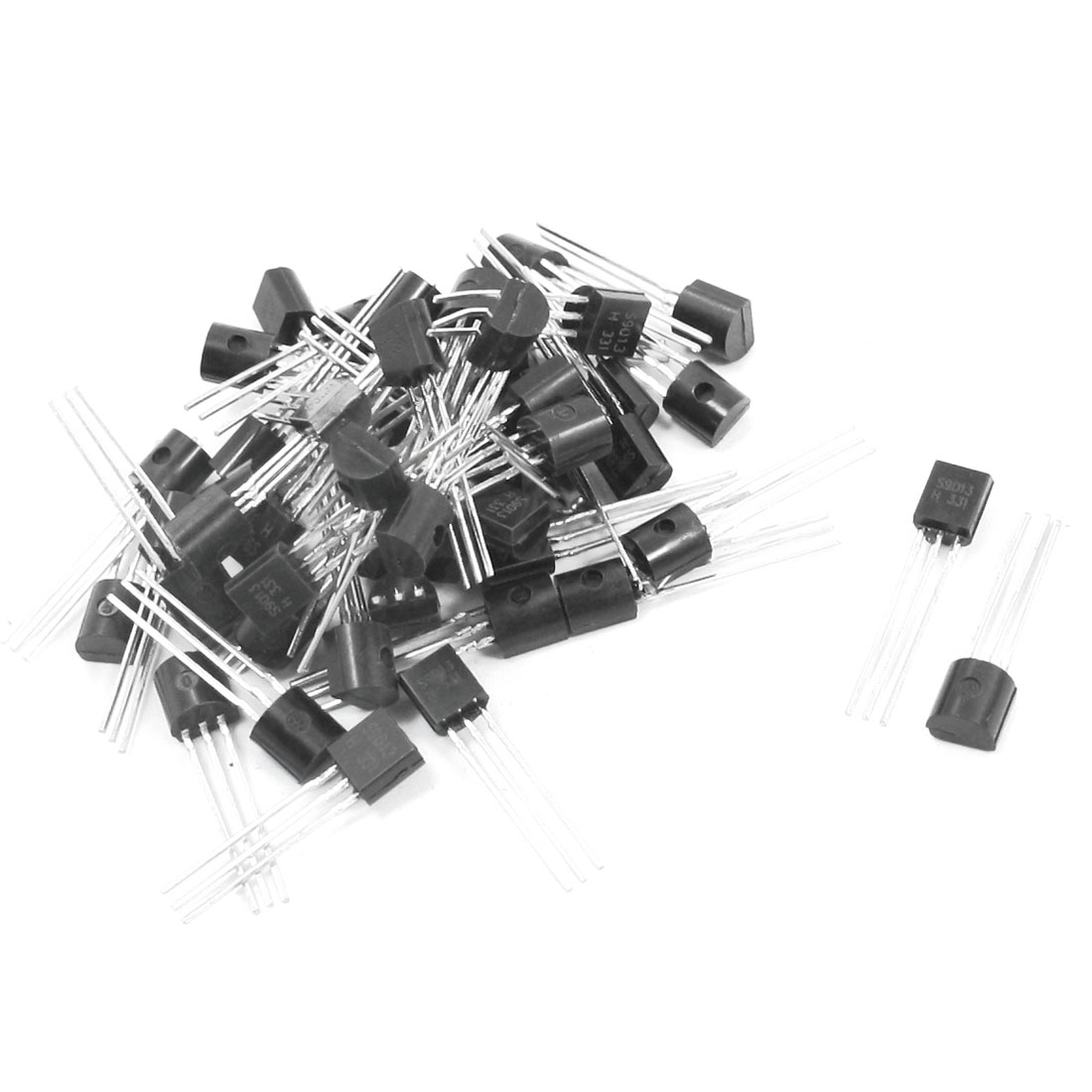 50pcs General Propose S9013 40V 500mA TO-92 Package PNP Transistor