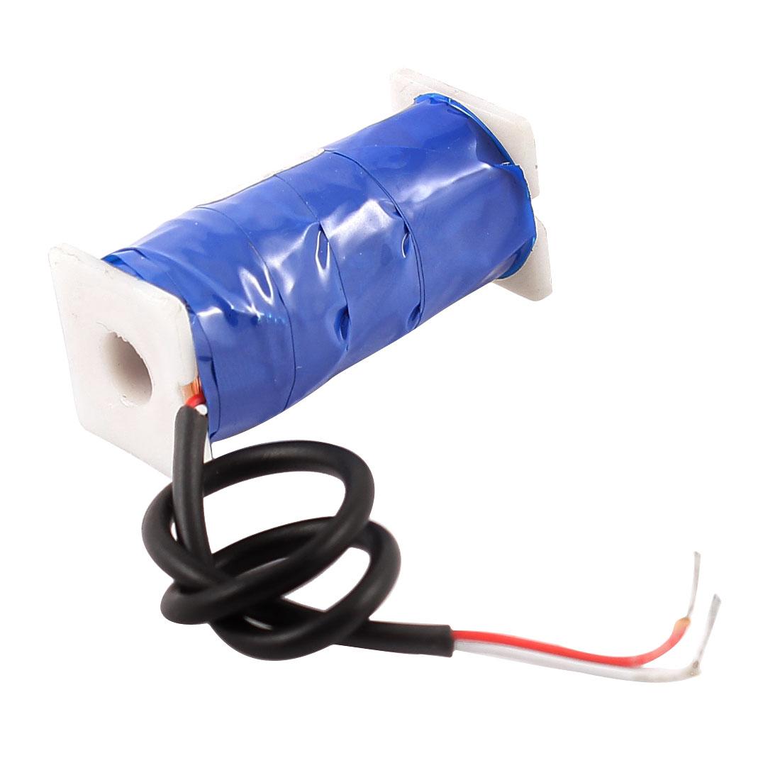 2mm Stroke 150g Holding Force Tubular Solenoid Electromagnet DC 12V 0.085A