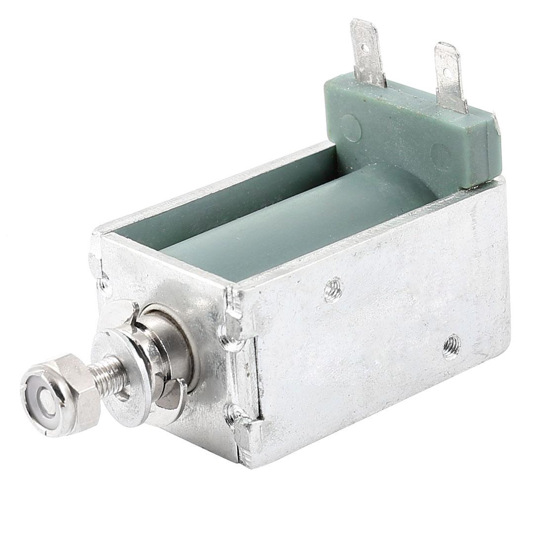 2mm/5Kg 12mm/0.8Kg 146.6W Power Open Frame Pull Type Solenoid Electromagnet 220V 0.66A