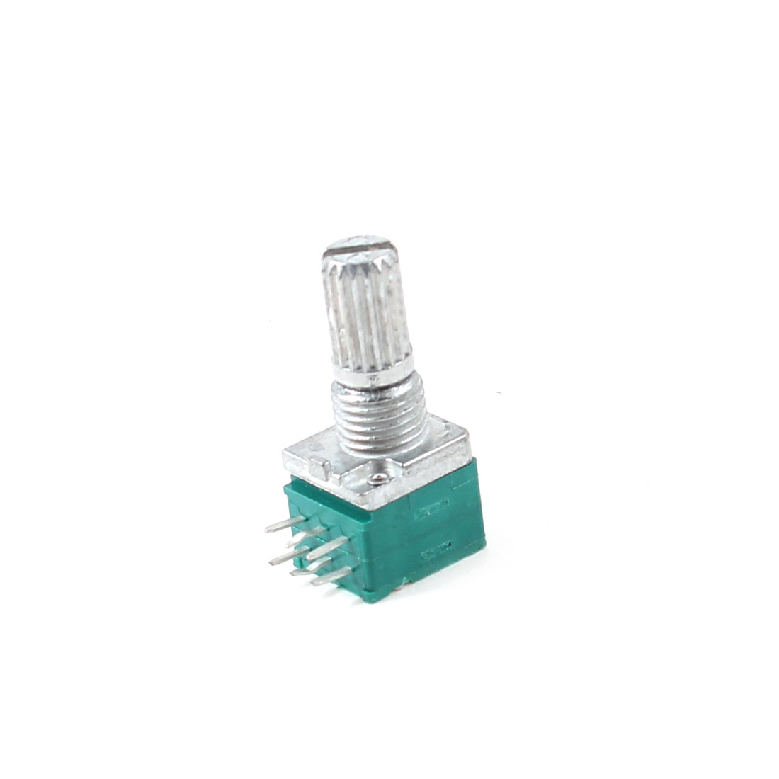 6mm Knurled Shaft Dual Linear B 50Kohm Carbon Film Switch Rotary Potentiometer