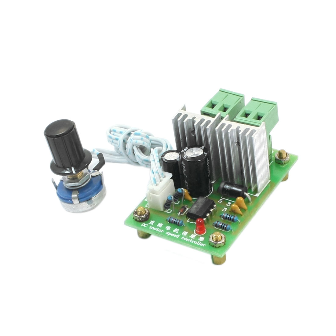 DC6-30V 25Khz 5A PWM DC Motor Speed Control Switch Y-3096