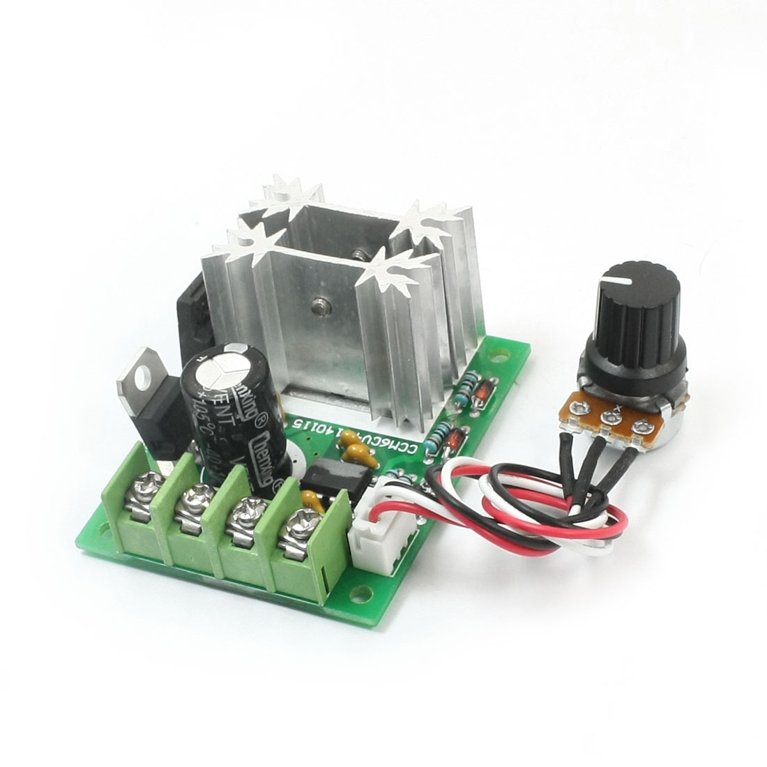 Universal PWM DC Motor Stepless Speed Controller DC6-30V 10A 21Khz