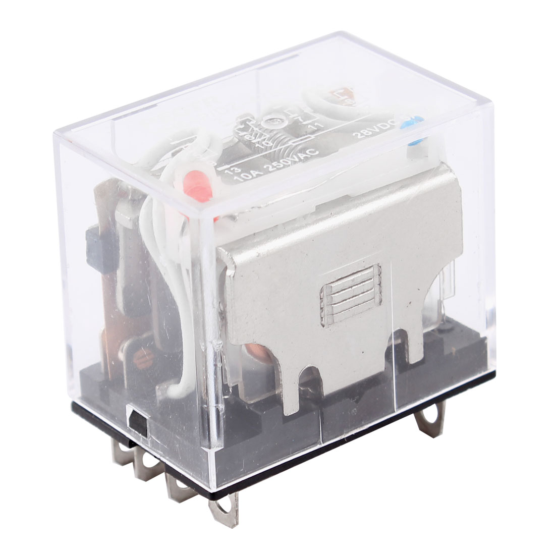 Model HH64P DC 24V Coil Volt 14 Pin 4PDT General Purpose Power Electromagnetic Relay