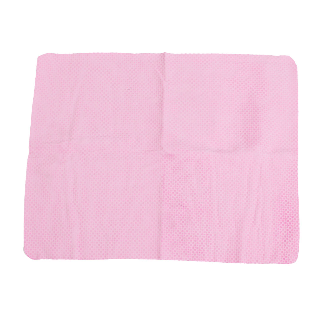 Home Furniture Car Synthetic Chamois Cleaning Cham Towel Pink 43cm x 32cm w Case