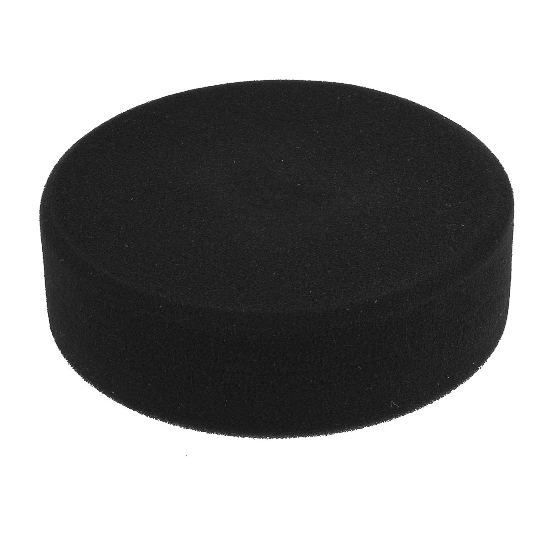 "6"" Dia Black Round Sponge 0.6"" Female Thread Sponge Polishing Ball Tool for Car"