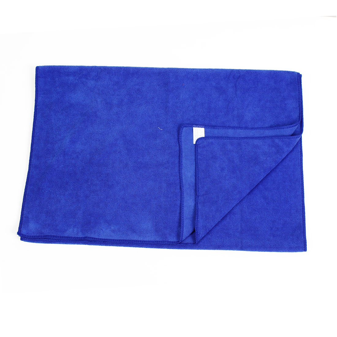 Rectangular Microfiber Cleaning Cloth Towel Blue 160cmx65cm for Car Vehicle