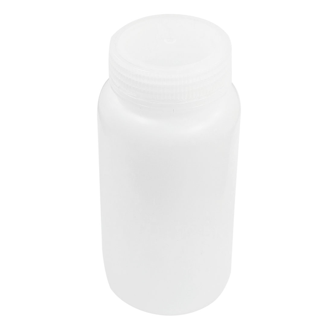 Plastic Screw Lid 500mL 16 oz Chemicals Storage Container White Plastic Reagent Bottle