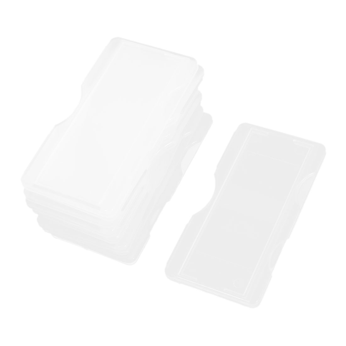 10 Pcs Laboratory Lab Microscope Glass Slides Plastic Storage Box Holder