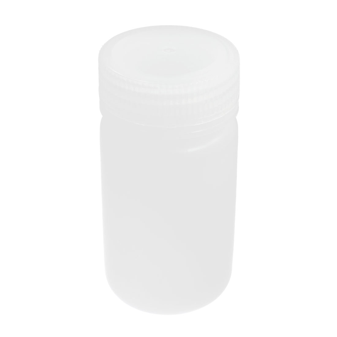 Plastic Screw Lid 125mL 4 oz Chemicals Storage Container White Plastic Reagent Bottle