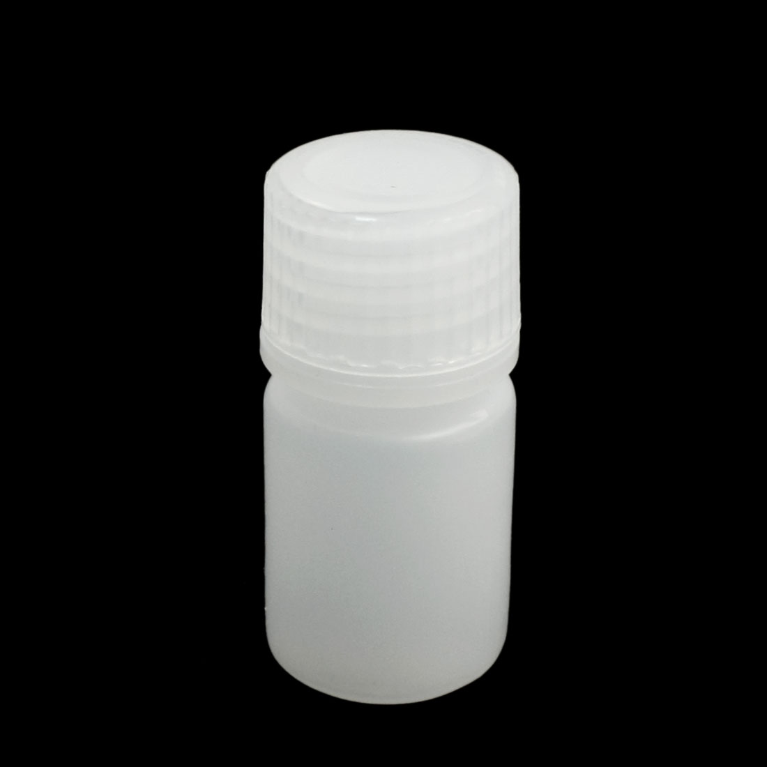 Screw Lid 10mL Chemicals Storage Container White Plastic Reagent Bottle