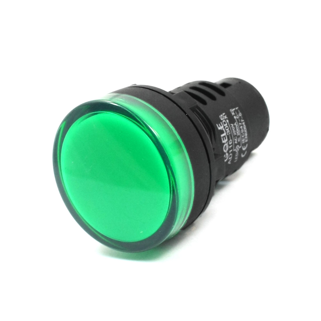 Green LED Pilot Signal Bulb Light Lamp AC 220V 20mA AD116-30DS
