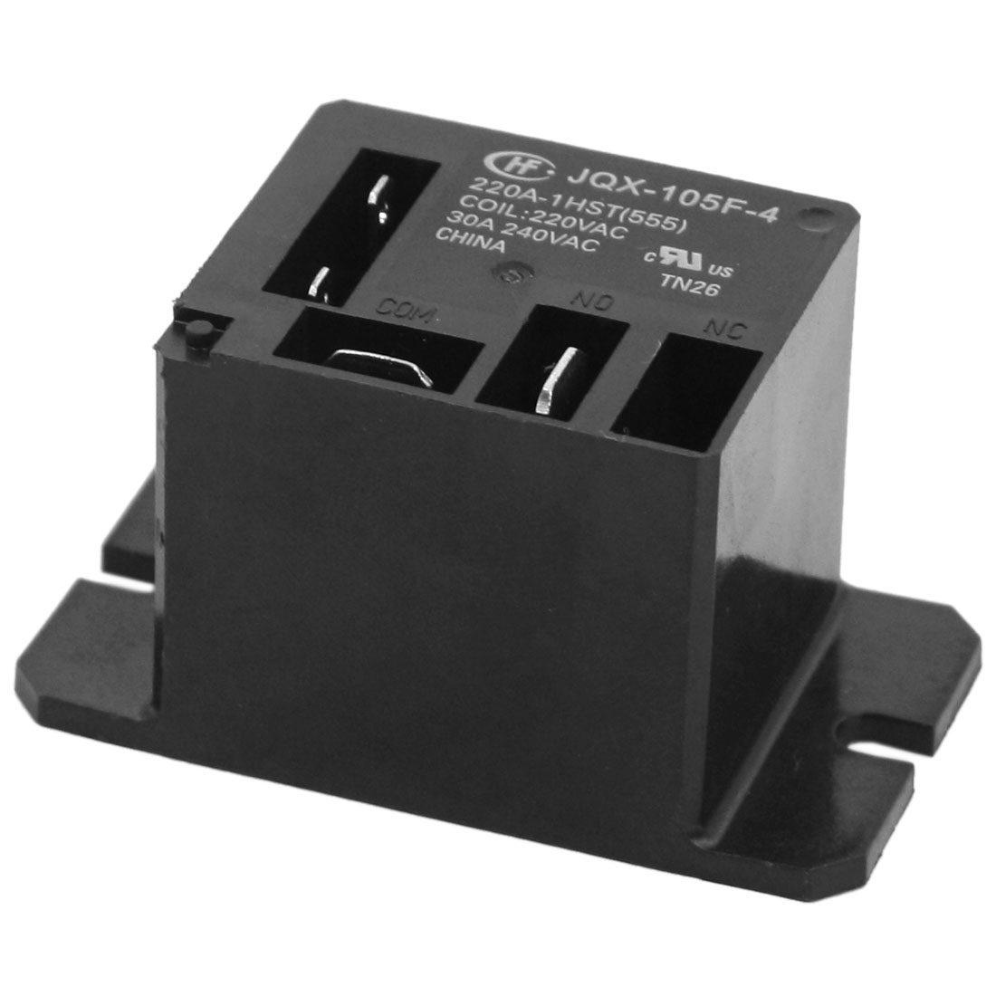 Miniature High Power Single Pole Normally Open Car Relay JQX-105F-4