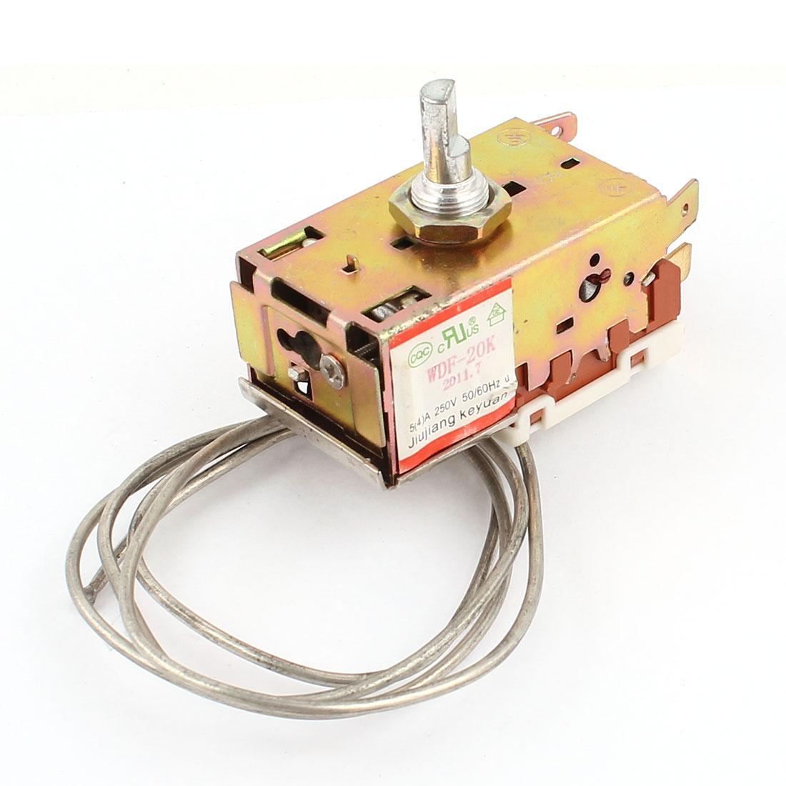 AC250V 4A Temperature Controller 72cm Cord Refrigerator Thermostat