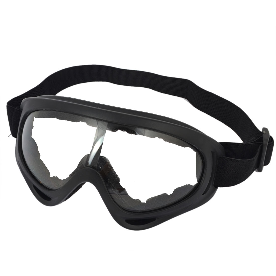 Black Cycling Sponge Padded Eyewear Windproof Ski Goggles Sunglasses
