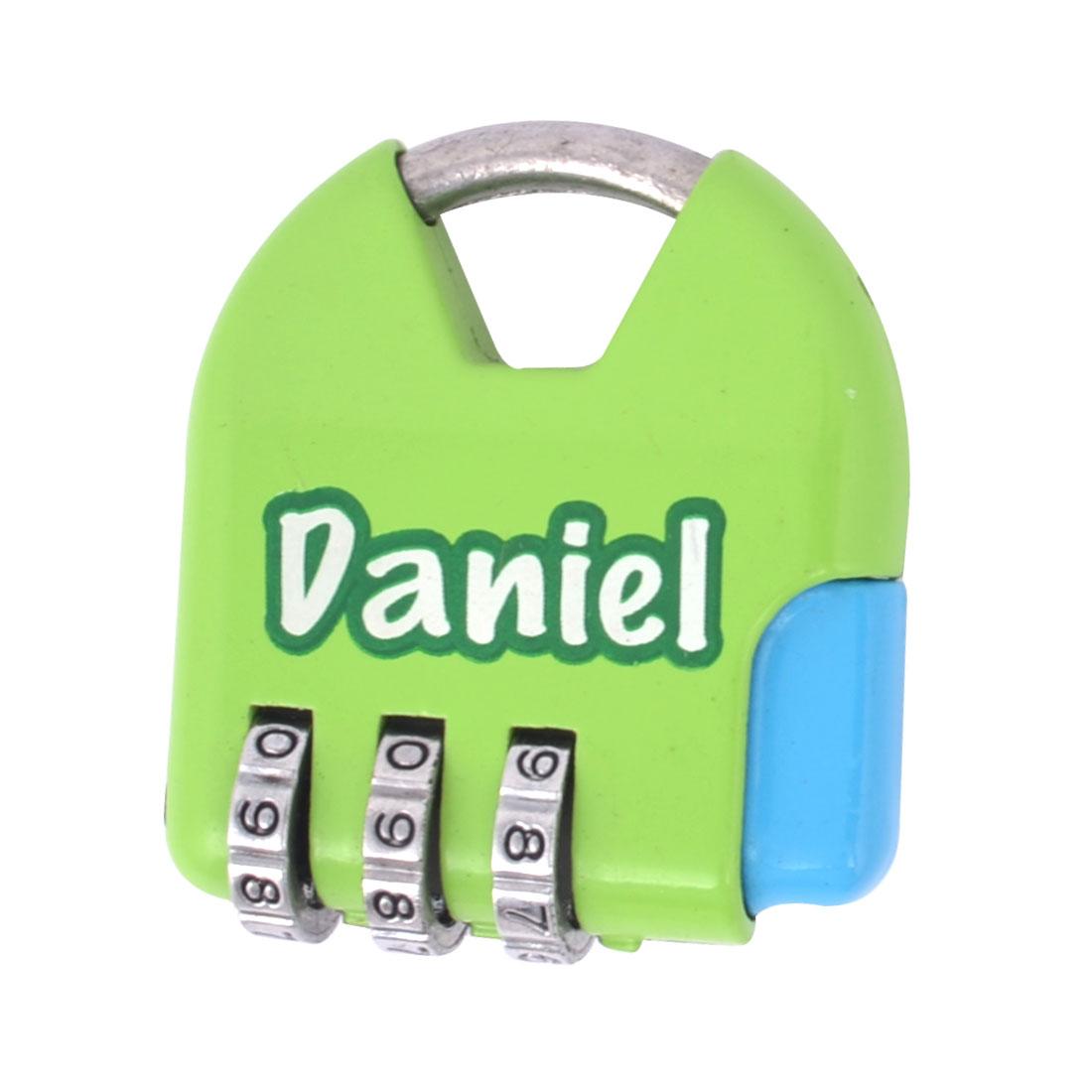 Green Handbag Shaped Jewelry Box Drawer Combination Password Padlock