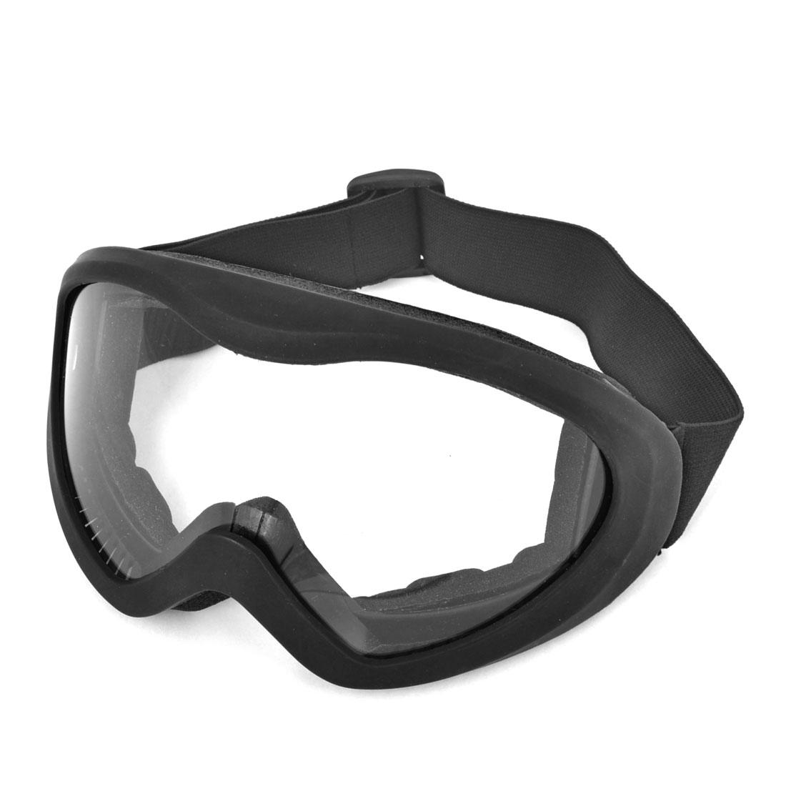 Black Winter Riding Padded Glasses Anti Fog Ski Goggles Sunglasses