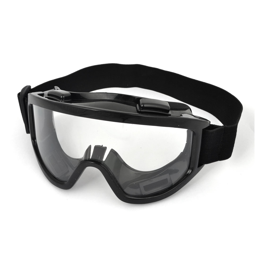 Black Winter Cycling Rubber Brim Glasses Anti Fog Ski Goggles Sunglasses