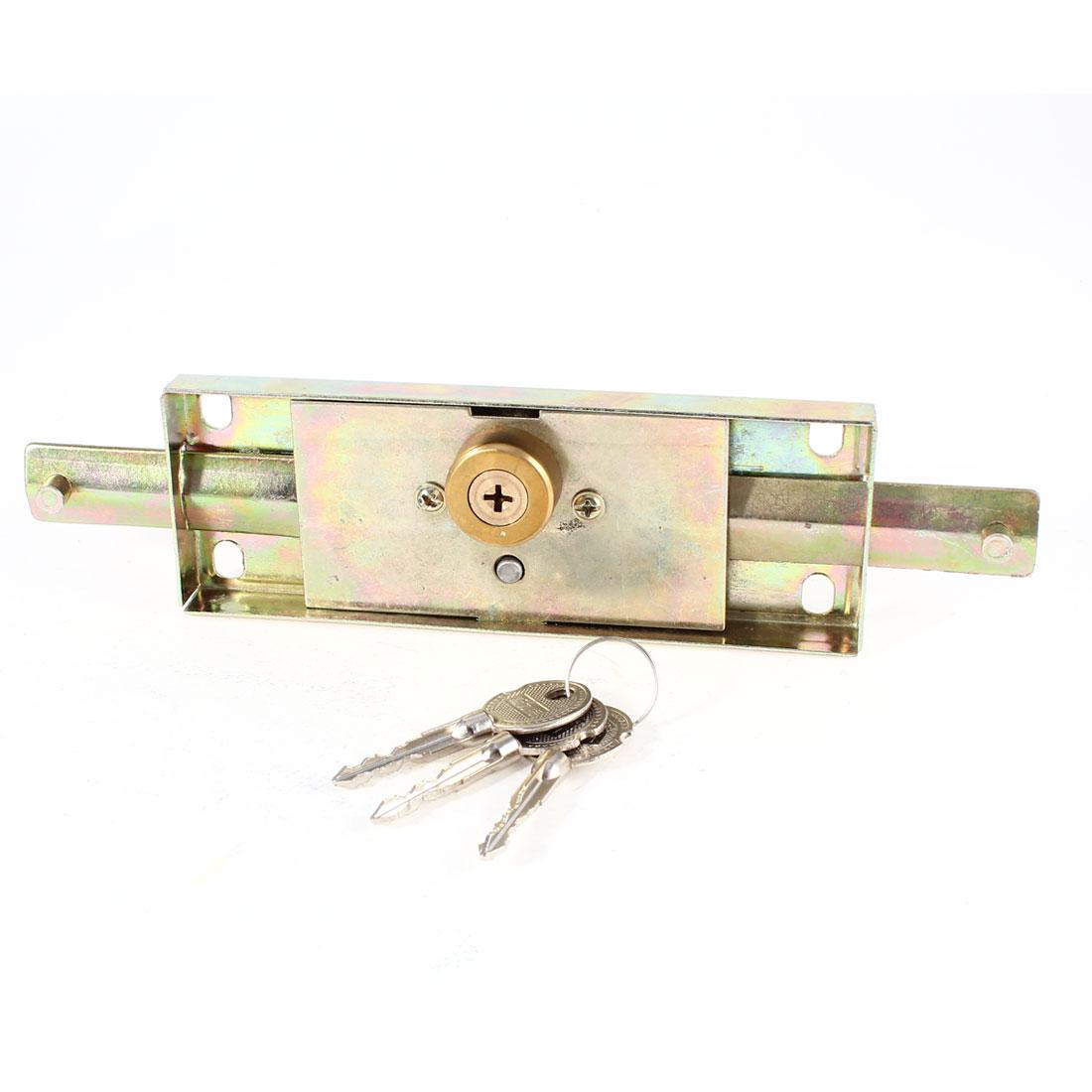 Warehouse Garage Security Locking Locker Rolling Gate Door Lock w 3 Keys