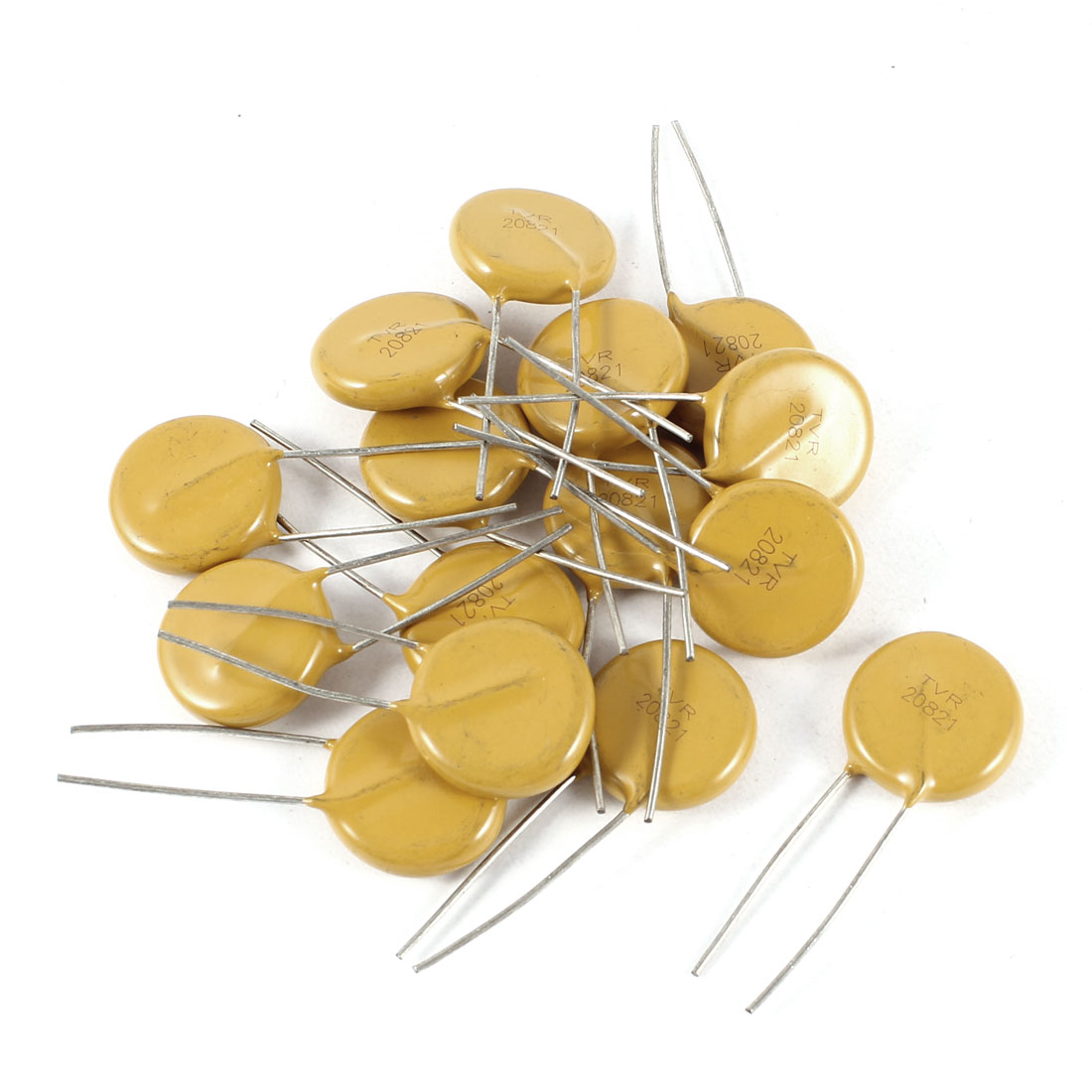15 Pcs Radial Lead Voltage Dependent Resistor Varistors 820V TVR20821